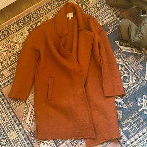 Anthropologie Moon River Rust coat